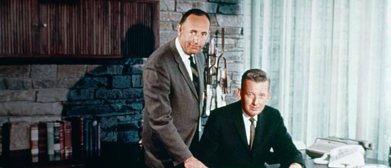 Rich DeVos and Jay Van Andel en la década de 1960.
